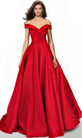 dramatic off the shoulder ruched a line mikado quinceanera ball gown prom dress