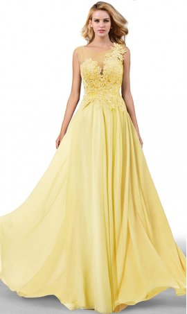flowy mock one shoulder lace bodice a line chiffon prom formal evening bridesmaid gown dress