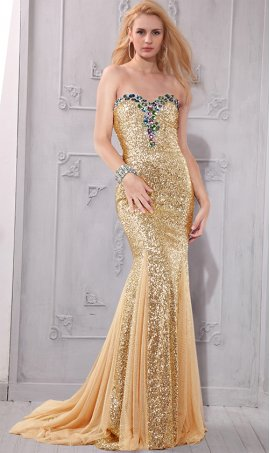 Chic ravishing multi-color stone beaded floor length sequin bridesmaid prom formal evening Dress Gown