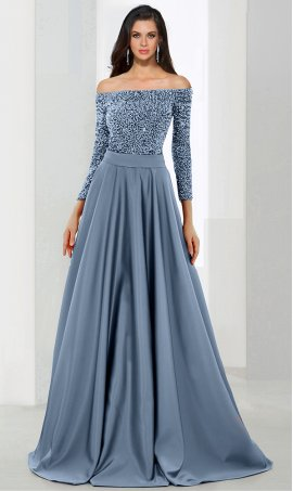 Flawless beaded bodice off the shoulder floor length a line satin ball Dress Gown prom formal evening Dress Gown