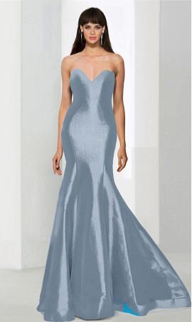 Flawless strapless sweetheart floor length taffeta mermaid prom formal evening Dress Gown
