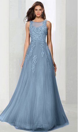 Flawless beaded corset lace up back a line tulle ball Dress Gown prom formal evening pageant Dress Gown