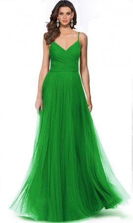 elegant ruched sweetheart spaghetti strap tulle bridesmaid prom formal evening military ball Dress Gown