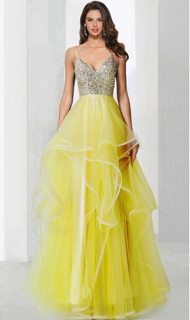Chic mesmerizing beaded tiered tulle ball quinceanera Dress Gown formal evening pagent Dress Gown