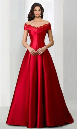 Flawless beaded lace applique off the shoulder satin ball Dress Gown Prom Formal Evening Dress Gown