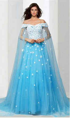 Chic absolutely off the shoulder beaded lace applique floral princess ball Dress Gown Prom Formal Evening Dress Gown