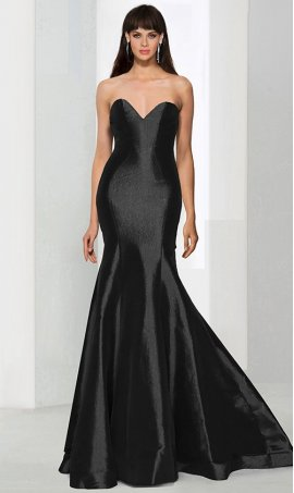 Flawless strapless sweetheart floor length taffeta mermaid prom formal evening Dress Gown