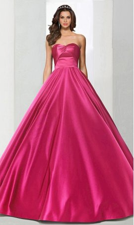 Charming ruched strapless sweetheart floor length satin ball Dress Gown Prom Formal Evening Dress Gown