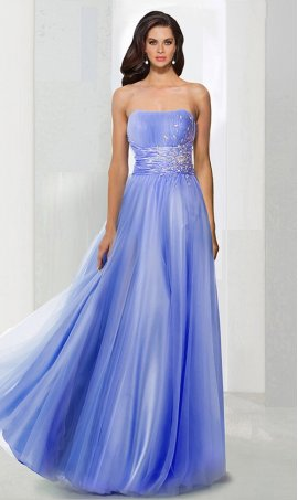Flawless beaded strapless sweetheart tulle ball Dress Gown prom formal evening Dress Gown