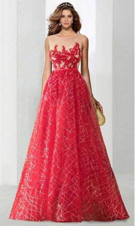 Chic breathtaking illusion high neck beaded lace applique sequin ball Dress Gown Prom Formal Evening Dress Gown