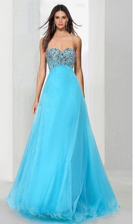 Flawless beaded corset lace-up back a line tulle ball Dress Gown prom formal evening pageant Dress Gown